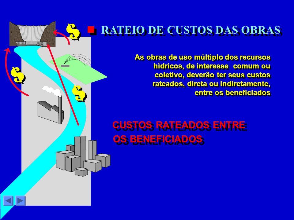 RATEIO DE CUSTOS DAS OBRAS