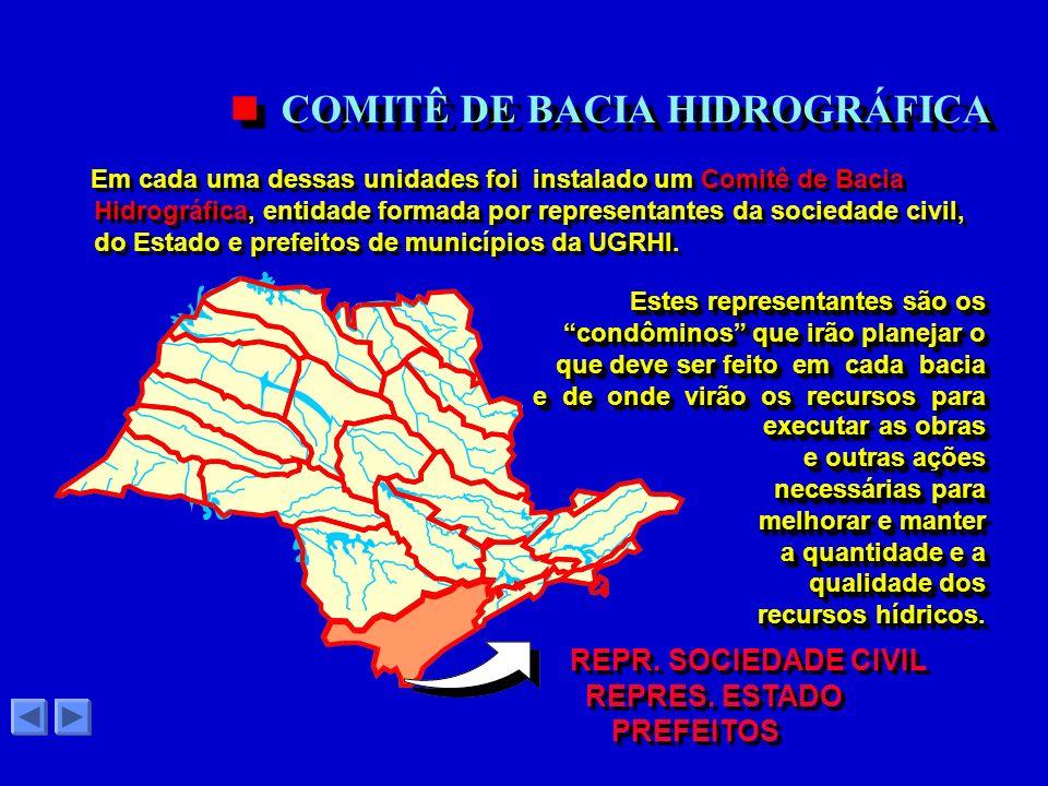 COMITÊ DE BACIA HIDROGRÁFICA