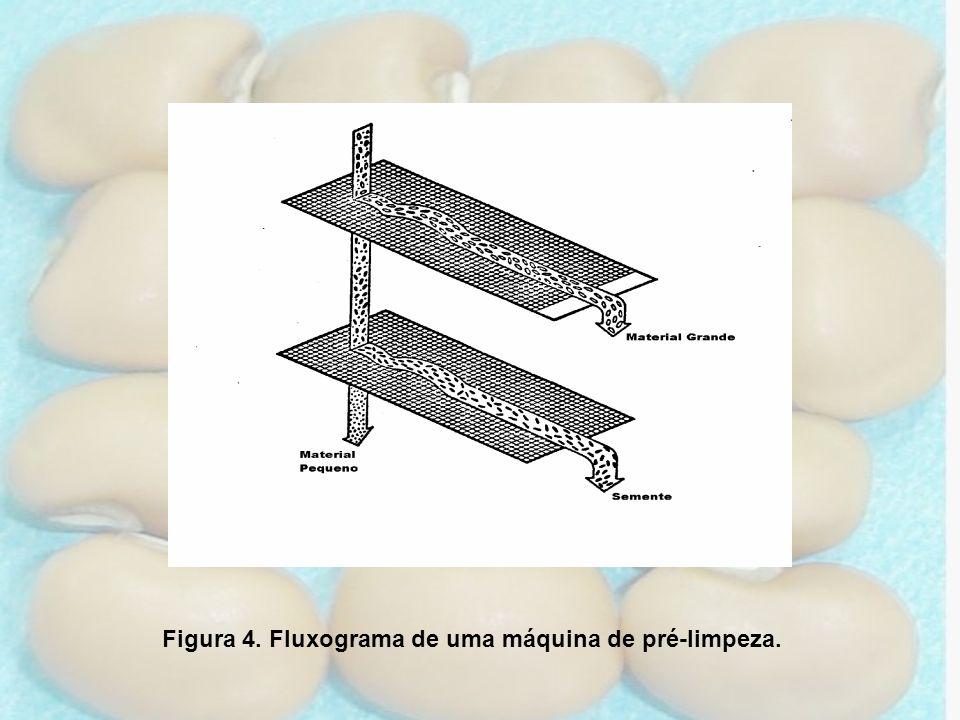 Figura 4. Fluxograma de uma máquina de pré-limpeza.