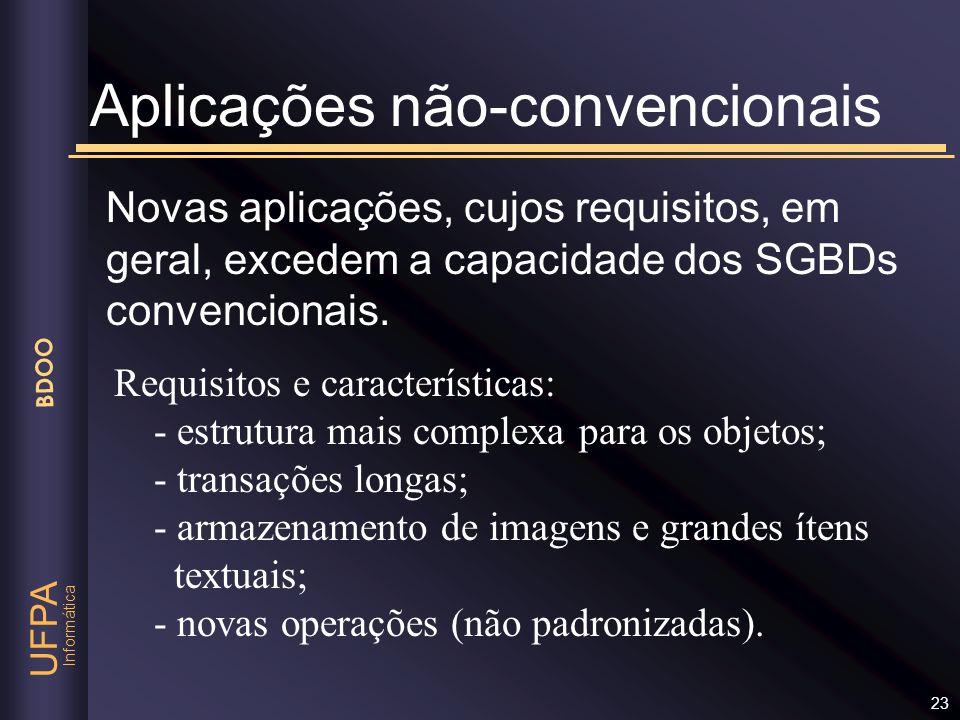 Aplicações não-convencionais