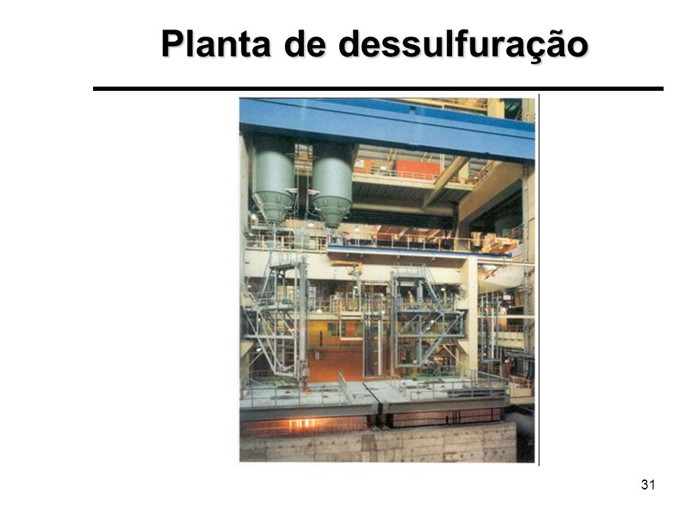 Planta de dessulfuração