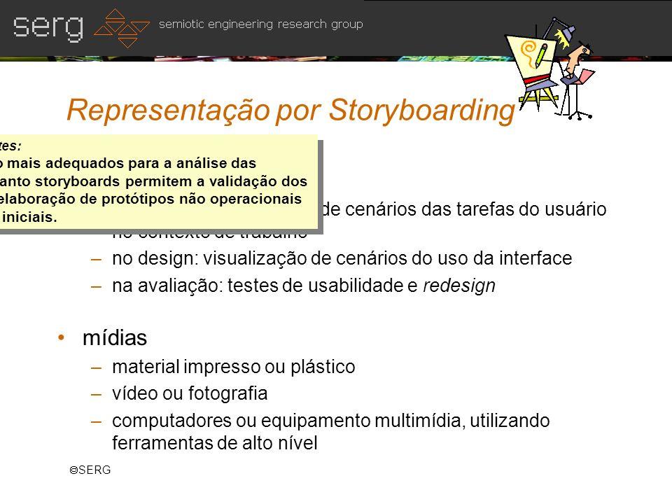 Representação por Storyboarding