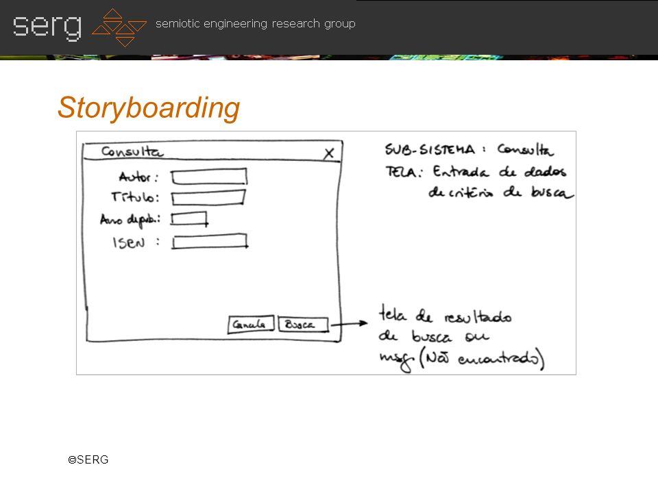 Storyboarding SERG