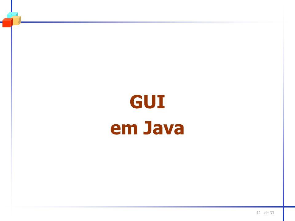 GUI em Java
