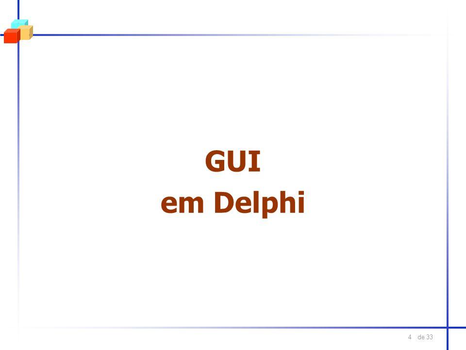 GUI em Delphi