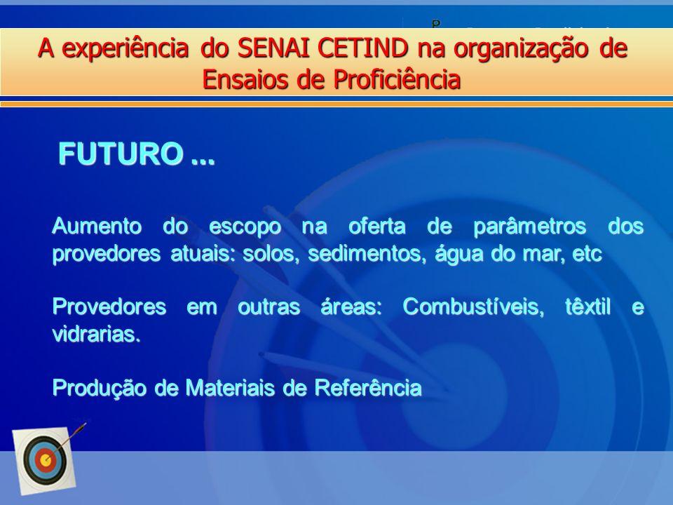 FUTURO ... A experiência do SENAI CETIND na organização de