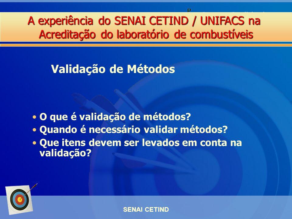 Validação de Métodos O que é validação de métodos