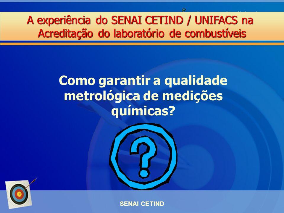 Como garantir a qualidade metrológica de medições químicas
