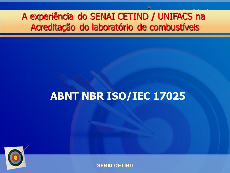 ABNT NBR ISO/IEC 17025 SENAI CETIND