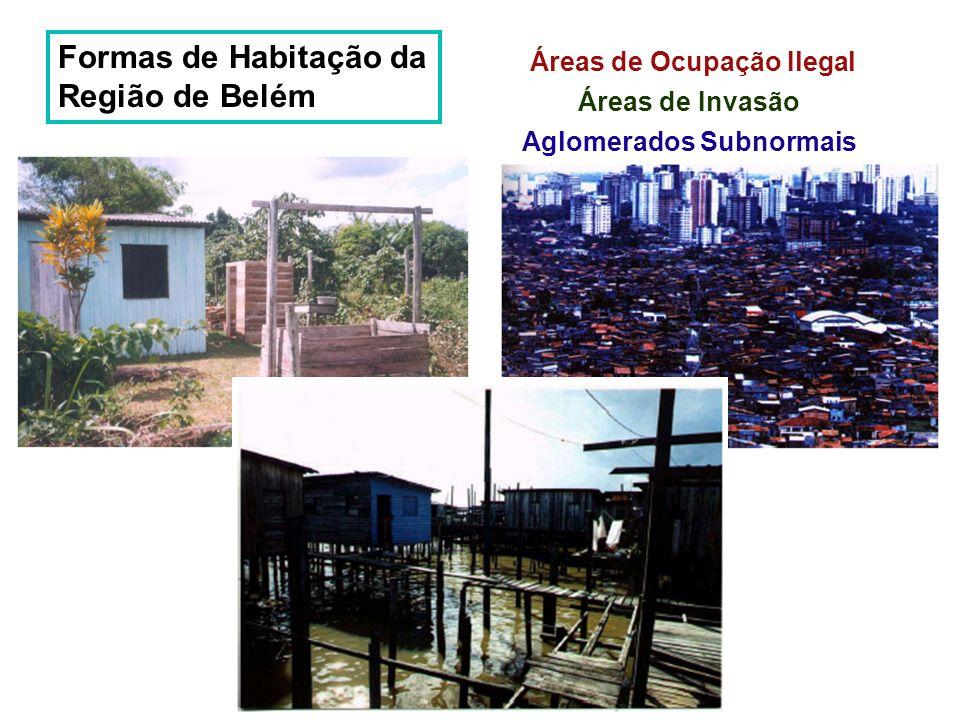 Formas de Habitação da Região de Belém