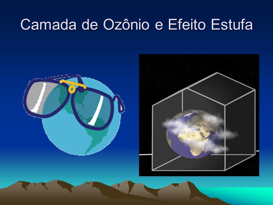 Camada de Ozônio e Efeito Estufa