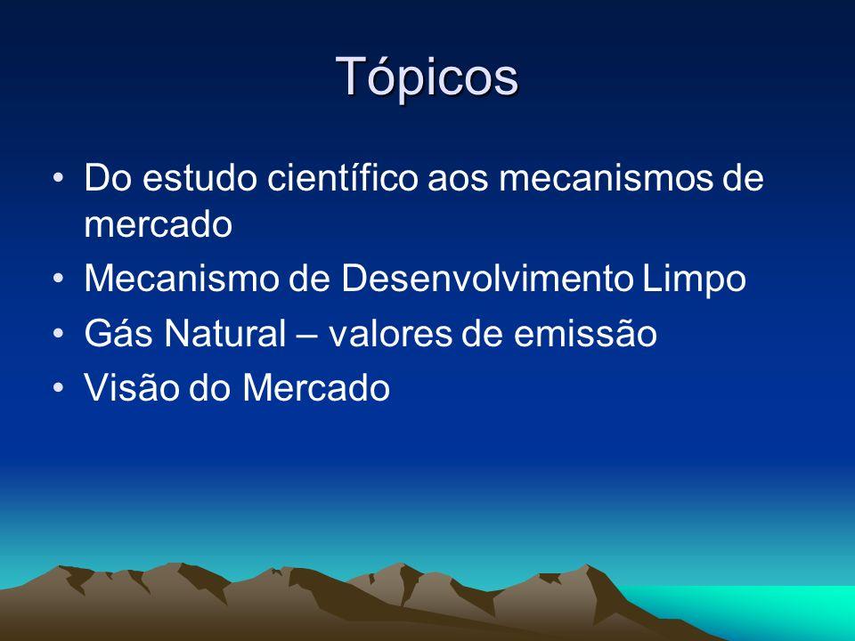 Tópicos Do estudo científico aos mecanismos de mercado
