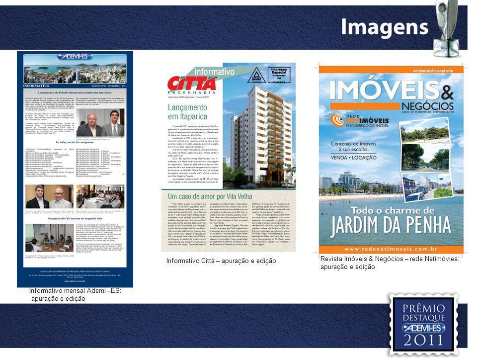 Informativo Città – apuração e edição