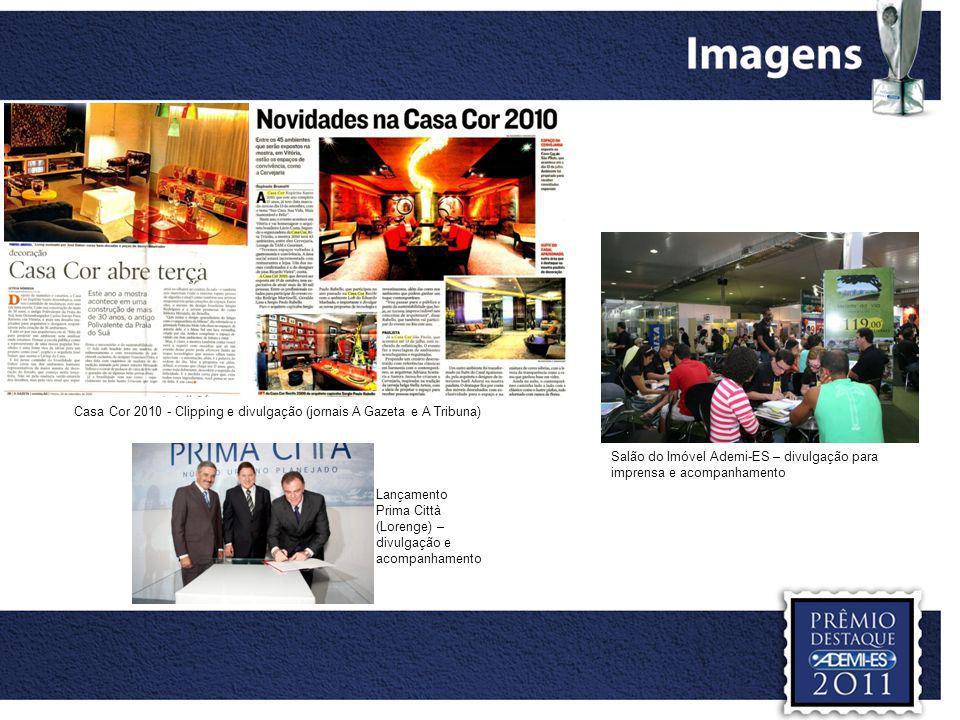 Casa Cor 2010 - Clipping e divulgação (jornais A Gazeta e A Tribuna)
