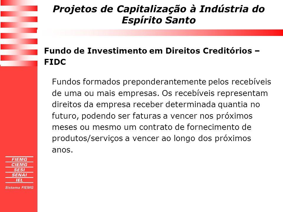 Fundo de Investimento em Direitos Creditórios – FIDC