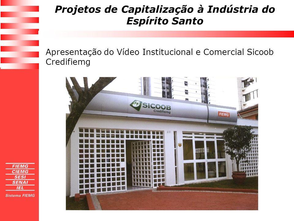 Apresentação do Vídeo Institucional e Comercial Sicoob Credifiemg