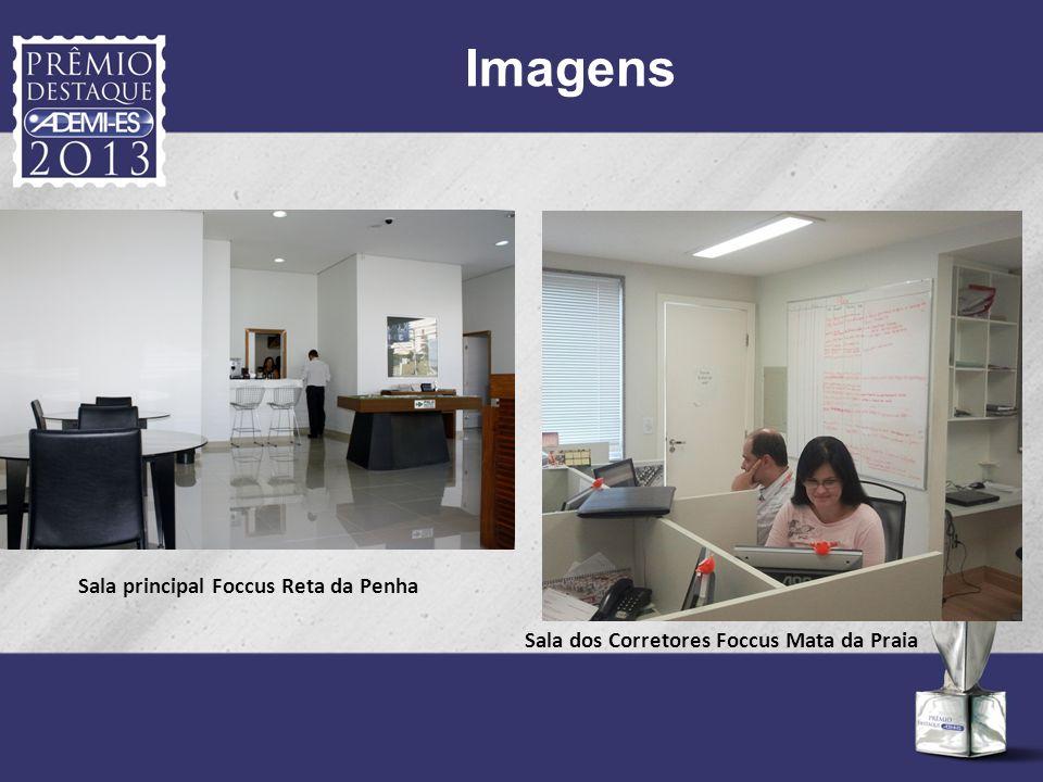 Imagens Sala principal Foccus Reta da Penha
