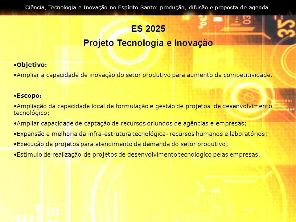 Projeto Tecnologia e Inovação