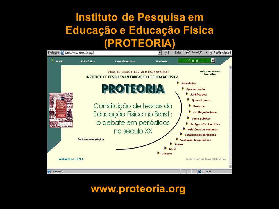 Instituto de Pesquisa em Educação e Educação Física (PROTEORIA)