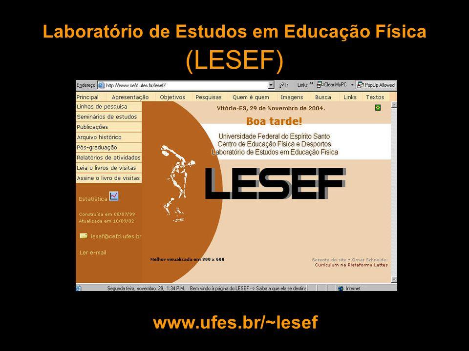 Laboratório de Estudos em Educação Física (LESEF)