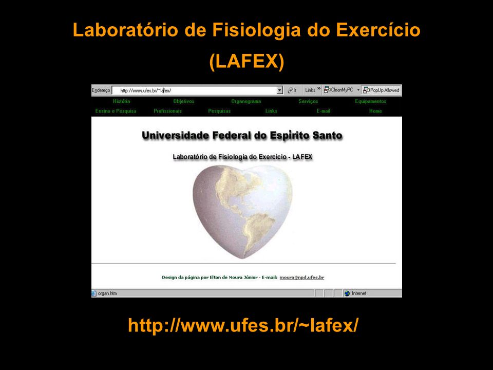 Laboratório de Fisiologia do Exercício (LAFEX)
