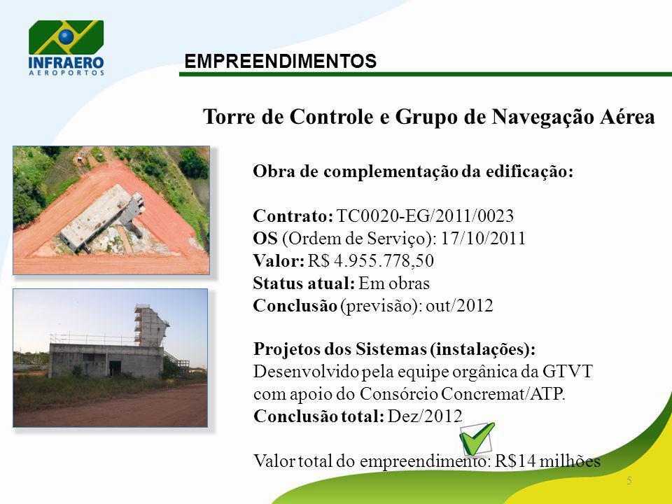 Torre de Controle e Grupo de Navegação Aérea