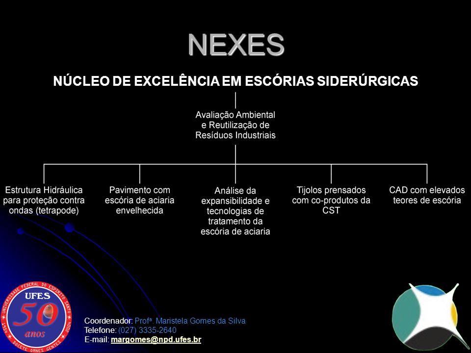 NÚCLEO DE EXCELÊNCIA EM ESCÓRIAS SIDERÚRGICAS