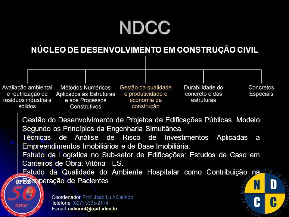 NÚCLEO DE DESENVOLVIMENTO EM CONSTRUÇÃO CIVIL