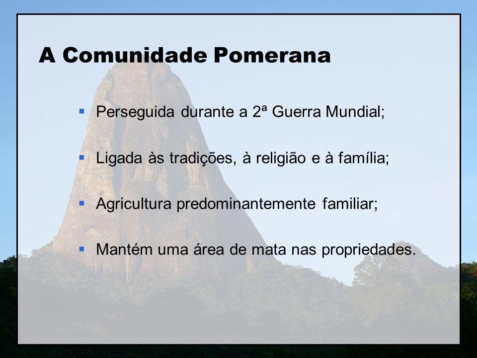 A Comunidade Pomerana Perseguida durante a 2ª Guerra Mundial;
