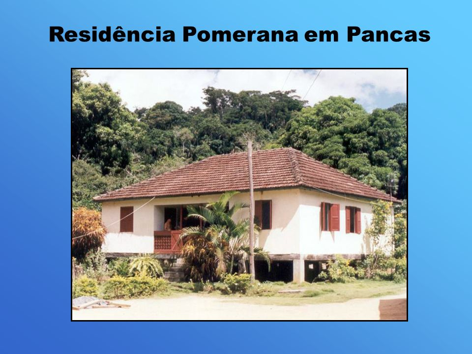 Residência Pomerana em Pancas