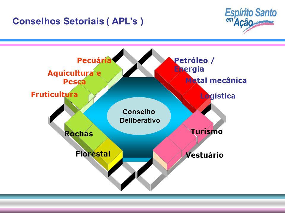 Conselhos Setoriais ( APL's )