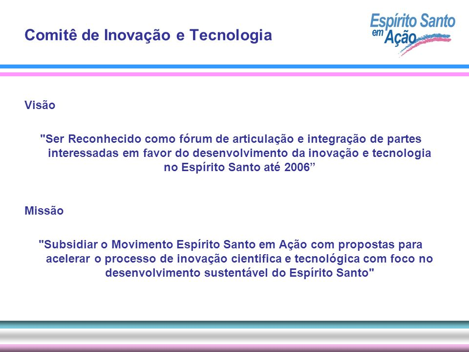 Comitê de Inovação e Tecnologia