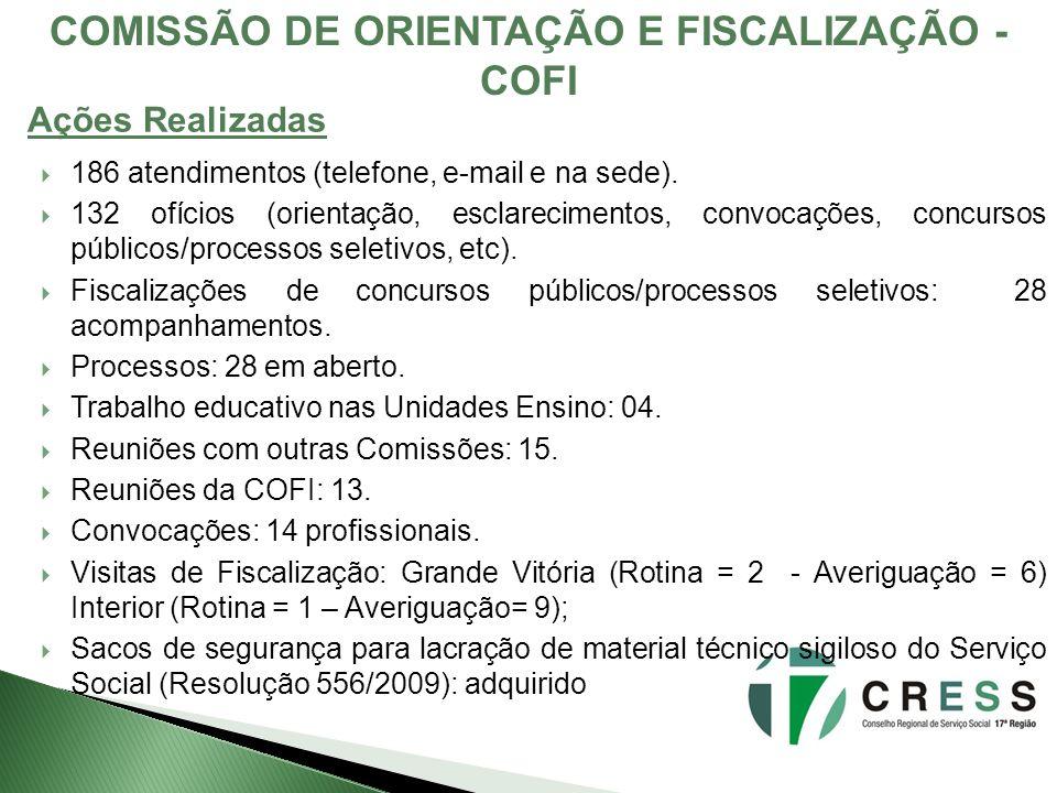 COMISSÃO DE ORIENTAÇÃO E FISCALIZAÇÃO - COFI