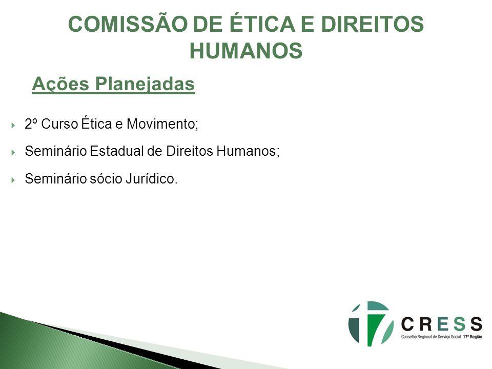 COMISSÃO DE ÉTICA E DIREITOS HUMANOS