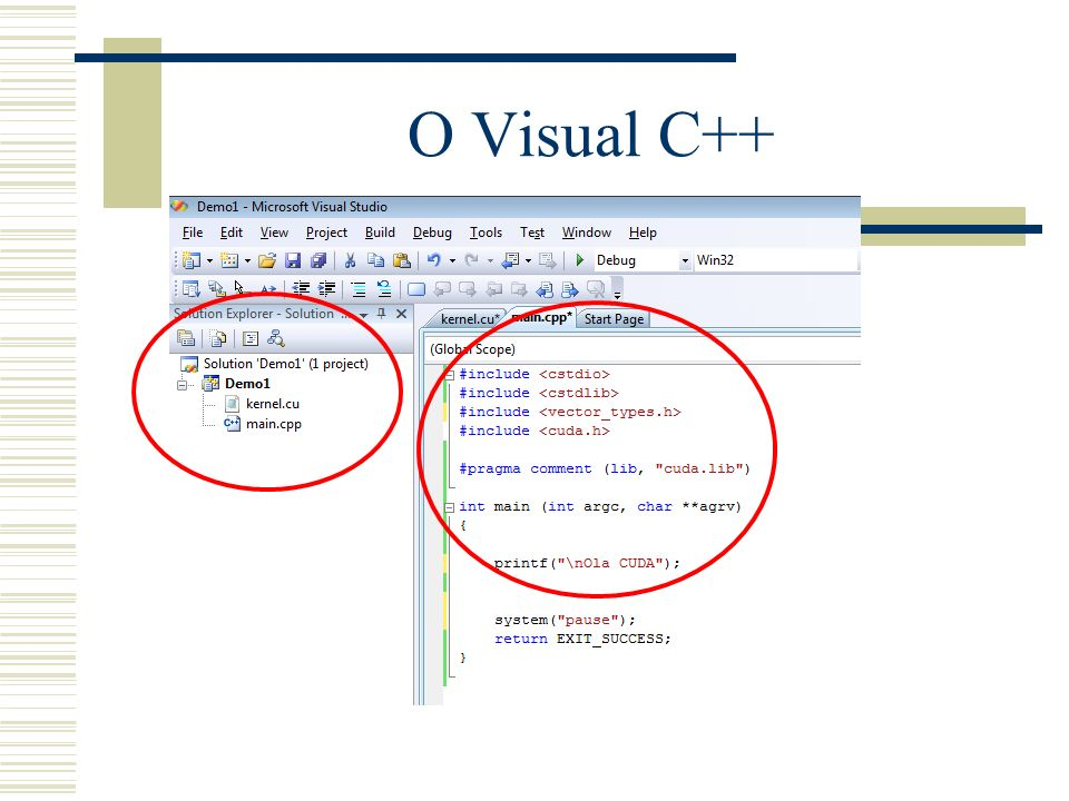 O Visual C++