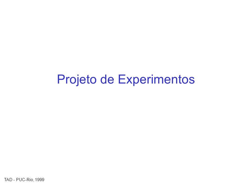 Projeto de Experimentos