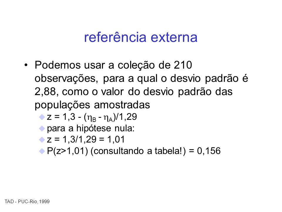 referência externa