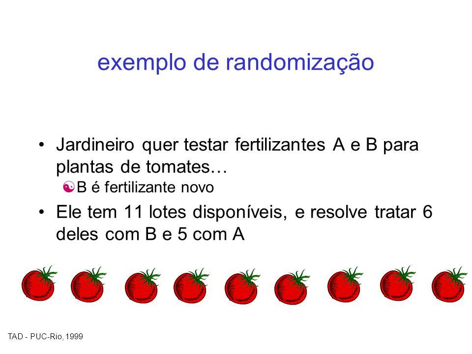 exemplo de randomização