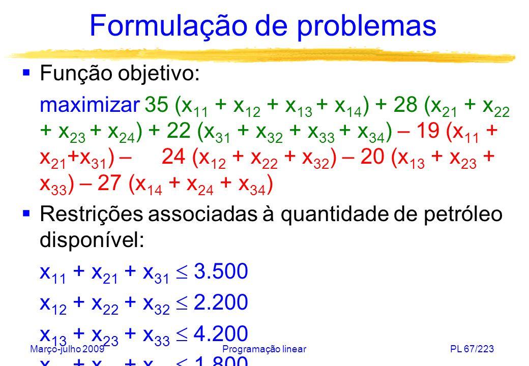 Formulação de problemas