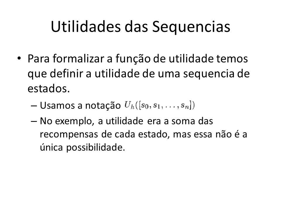 Utilidades das Sequencias