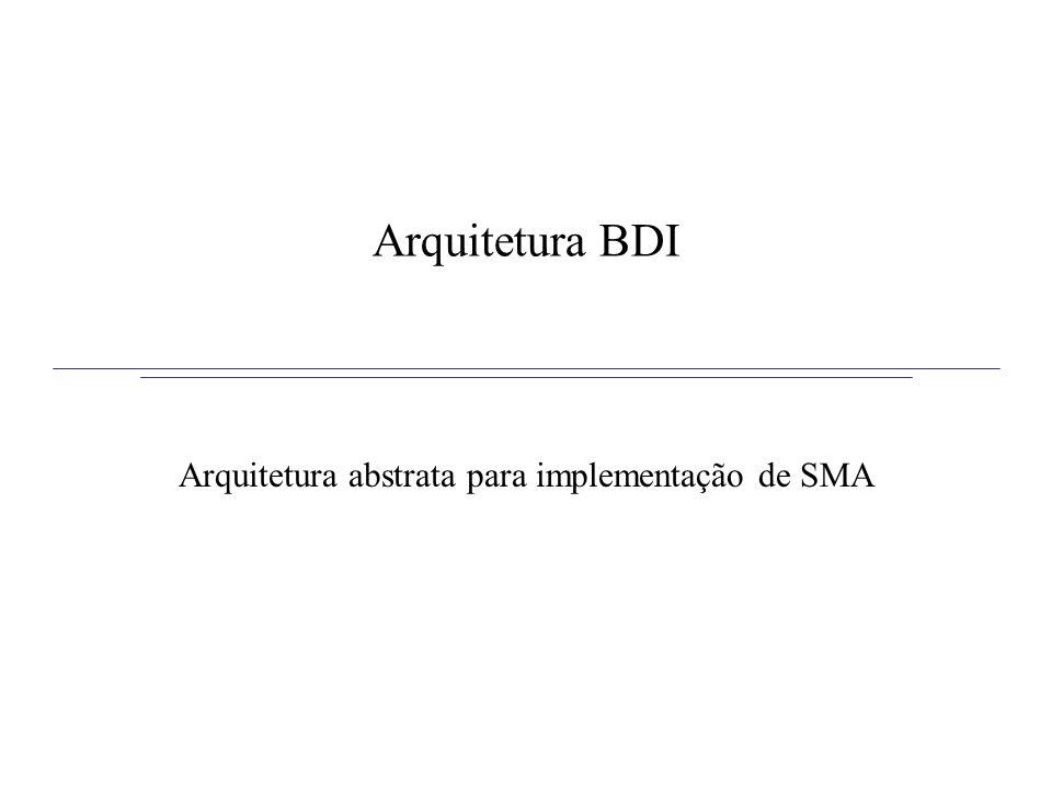 Arquitetura abstrata para implementação de SMA