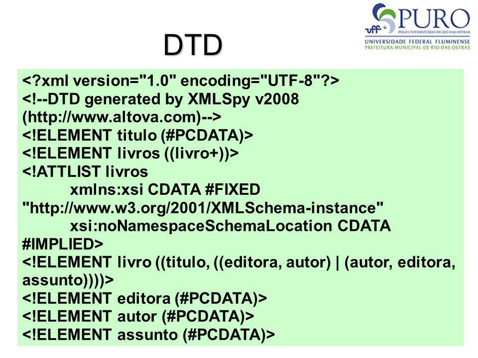 DTD < xml version= 1.0 encoding= UTF-8 >