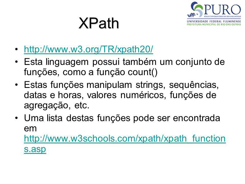 XPath http://www.w3.org/TR/xpath20/