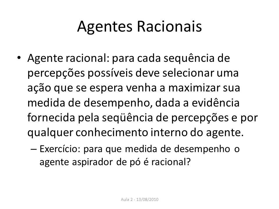 Agentes Racionais