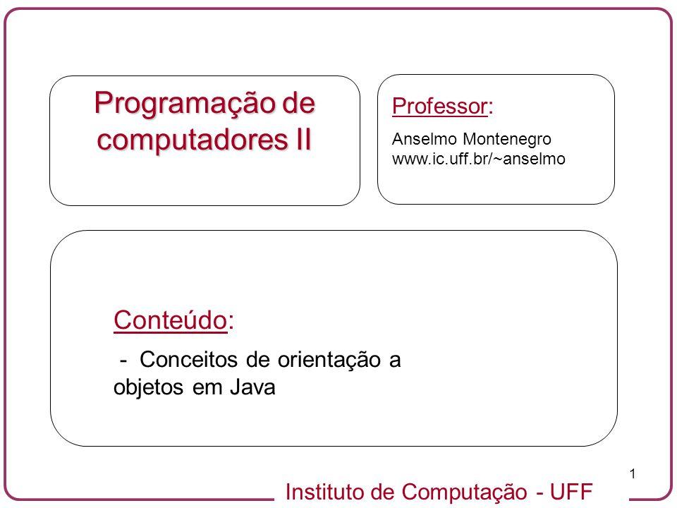 Programação de computadores II