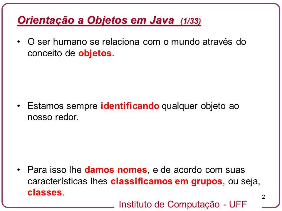 Orientação a Objetos em Java (1/33)