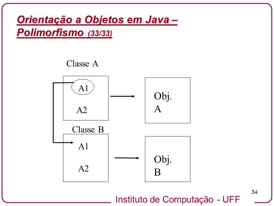 Orientação a Objetos em Java – Polimorfismo (33/33)