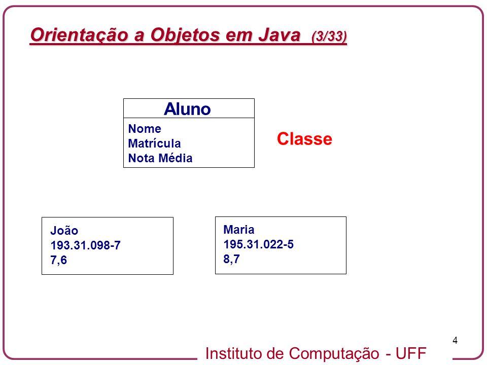 Orientação a Objetos em Java (3/33)