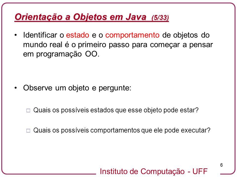 Orientação a Objetos em Java (5/33)