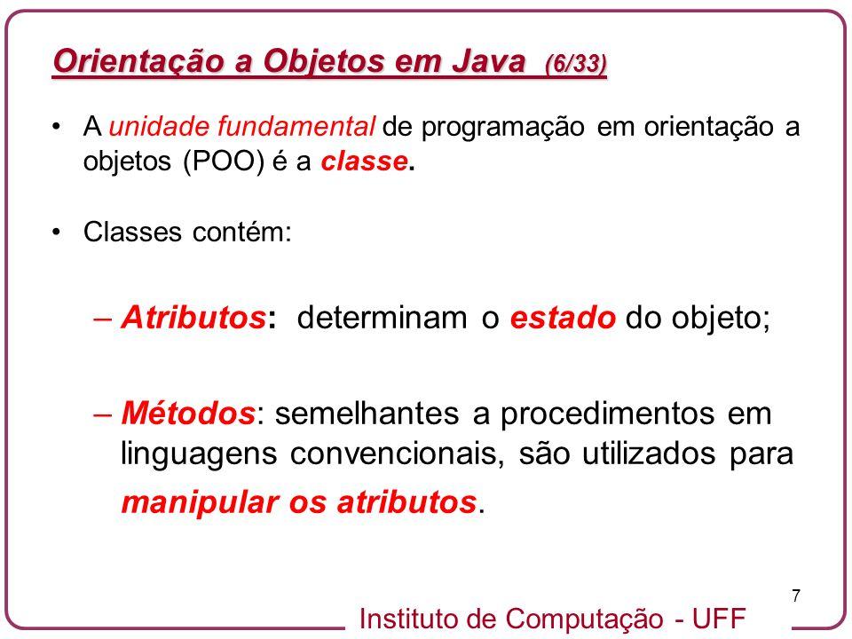 Orientação a Objetos em Java (6/33)